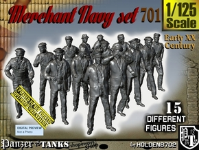 1/125 Merchant Navy Set701 in Frosted Ultra Detail