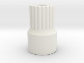 AR60 lockout -V6-splined-bearing inside 11-short  in White Natural Versatile Plastic