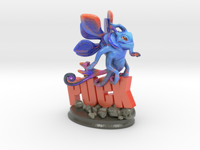 Puck #Valve #Dota2 in Glossy Full Color Sandstone