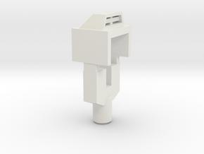 Handle and Filler for TR Triggerhappy in White Premium Versatile Plastic