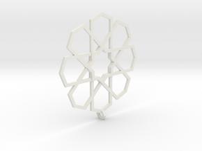 Earrings Tivoli Byzanth in White Premium Versatile Plastic