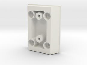 2537-13 Verticle Injection Plentum in White Natural Versatile Plastic