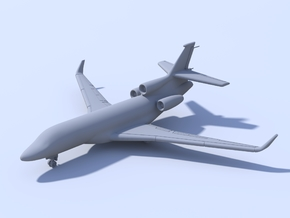 1:500 - Dassault Falcon 7X [x2][A] in Smooth Fine Detail Plastic
