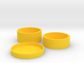 Okito Boston Set 2 Euro in Yellow Processed Versatile Plastic