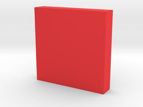Plane in Red Processed Versatile Plastic