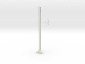 PRR 1T BRACKET STEADY in White Natural Versatile Plastic