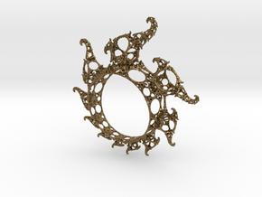 Klein Ring in Natural Bronze