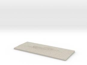 Model of Kūlkān in Natural Sandstone