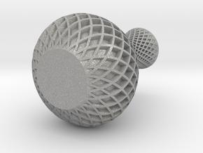 spiral-vase in Aluminum