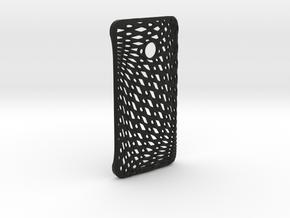 Phone case HTC One M7 in Black Natural Versatile Plastic