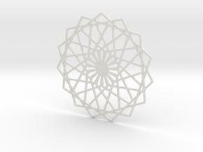 Coaster_2 in White Strong & Flexible
