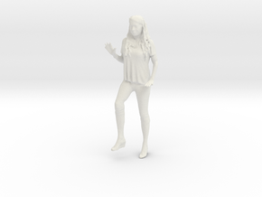 Printle C Femme 887 - 1/24 - wob in White Natural Versatile Plastic