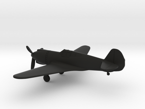 Curtiss XP-42 in Black Natural Versatile Plastic: 1:160 - N