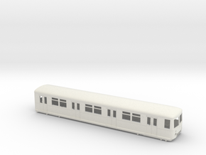 BR 477 Mod 0 scale [1x body] in White Natural Versatile Plastic