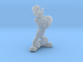 Popeye   in Smooth Fine Detail Plastic: Small