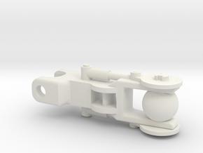 Mata weapon arm upper in White Natural Versatile Plastic