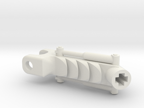 Mata Weapon Arm Lower in White Natural Versatile Plastic