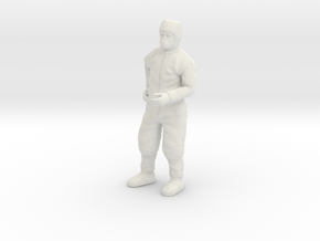 Clean Room Scientist 1:12 in White Natural Versatile Plastic