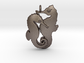 Chapter 1: He is seduced! Pendant in Polished Bronzed Silver Steel