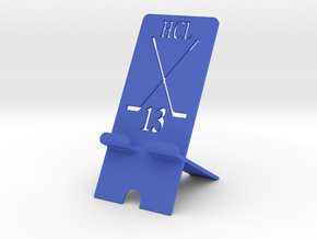 Phone Stand Hockey in Blue Processed Versatile Plastic