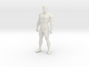 Printle V Homme 1070 - 1/32 - wob in White Natural Versatile Plastic