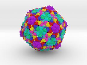 Bacteriophage T7 Head in Full Color Sandstone