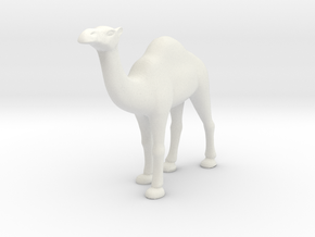 Printle Thing Dromedary - 1/64 in White Natural Versatile Plastic