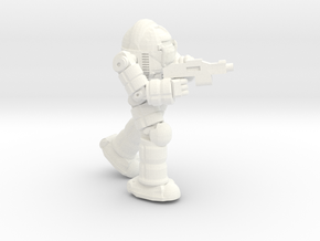 Ogre BattleSuit (Pose1) (Free Download) in White Processed Versatile Plastic