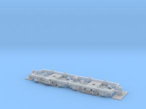 #00L Drehgestell Goerlitz III leicht 4U Univ-Adapt in Smooth Fine Detail Plastic