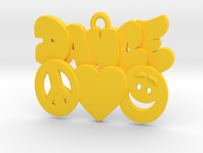 31-PLH-icons-DANCE in Yellow Strong & Flexible Polished: Medium