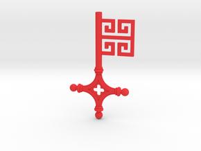 Bremer Schlüssel in Red Processed Versatile Plastic