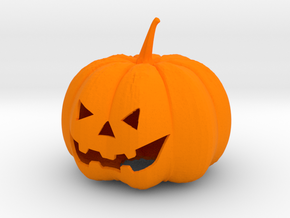 Halloween Pumpkin in Orange Processed Versatile Plastic