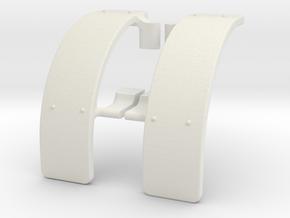 Fiat Kotflügel in White Natural Versatile Plastic