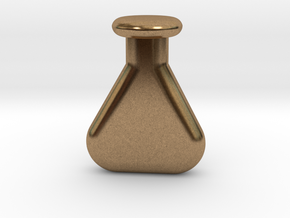 chemistry vial in Natural Brass