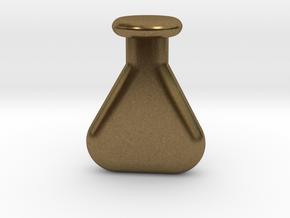 chemistry vial in Natural Bronze