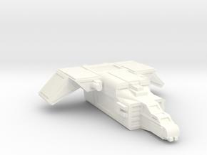 MKII Raptor Gunship in White Processed Versatile Plastic