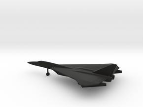 North American XF-108 Rapier in Black Natural Versatile Plastic: 6mm