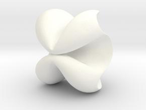 Farfalle in White Processed Versatile Plastic