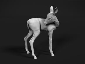 Impala 1:45 Licking Fawn in Smooth Fine Detail Plastic