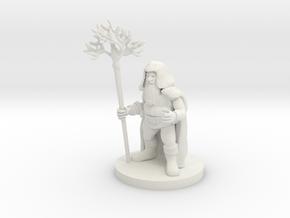 Dwarf Druid in White Premium Strong & Flexible