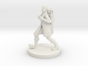 Traveling Adventurer 2 in White Natural Versatile Plastic