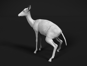 Impala 1:48 Pooping Female in Smooth Fine Detail Plastic