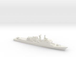 Niteroi-class frigate, 1/1250 in White Natural Versatile Plastic