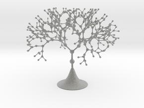 Nodal Fractal Tree in Metallic Plastic