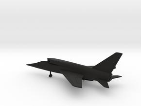North American F-107A Ultra Sabre in Black Natural Versatile Plastic: 1:200