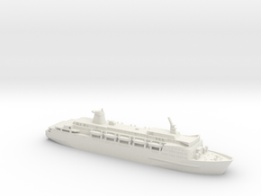 1/1250 Norland non-stuft in White Natural Versatile Plastic