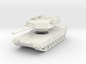 MG160-US01.1 M1 MBT (no MGs) in White Natural Versatile Plastic