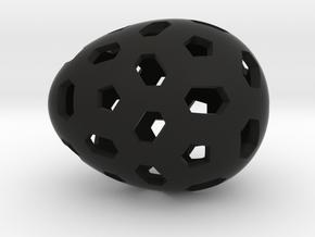 Mosaic Egg #1 in Black Premium Strong & Flexible