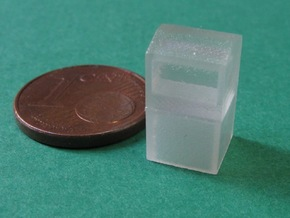 Kleidersammelcontainer 10x, 1:160 / Bin for used g in Smooth Fine Detail Plastic