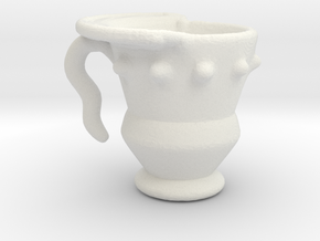 Imp's cup (set 1 of 2) in White Natural Versatile Plastic